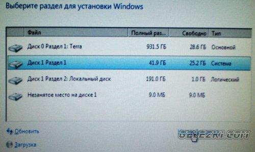 переустановка windows 7 на ноутбуке